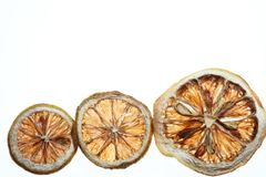 Desicated  citrus slice Royalty Free Stock Images