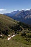 Desidera il picco dalla traccia Ridge Road Fotografie Stock