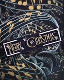 Desideri musicali di Natale Immagini Stock