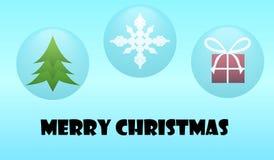 Desiderio della bolla di Natale Fotografia Stock Libera da Diritti