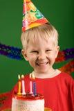 Desiderio di compleanno fotografie stock libere da diritti