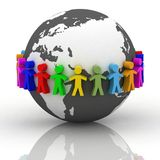 Desiderio di cooperazione Immagini Stock