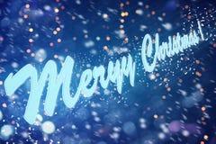Desiderio ognuno buon anno e Buon Natale Fotografie Stock
