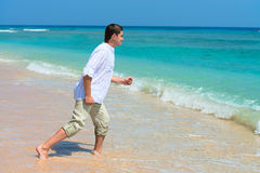 Desiderio per la vacanza sul mare Fotografia Stock Libera da Diritti