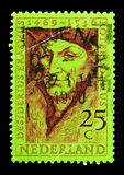Desiderius Erasmus (1469-1536) humanist, serie, circa 1969 Arkivbild