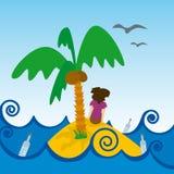 Desierta van Isla (vector) Royalty-vrije Stock Fotografie