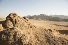 Desierto árabe en safari del shiekh del EL del sharm de Egipto Imagen de archivo libre de regalías