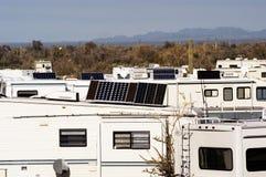 Desierto 2 que acampan Imagen de archivo libre de regalías