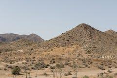 Desierto Andalucía, España de Taberna fotos de archivo libres de regalías