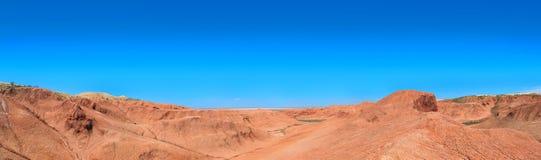 Desierto arcilloso Foto de archivo libre de regalías