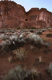 Desierto, arcos N.P., Utah Fotografía de archivo