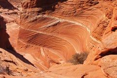 Desierto Barranco-bermellón de los acantilados de Paria, Arizona, los E.E.U.U. Imágenes de archivo libres de regalías