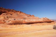 Desierto Barranco-bermellón de los acantilados de Paria, Arizona, los E.E.U.U. Imagen de archivo
