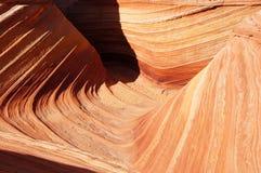 Desierto Barranco-bermellón de los acantilados de Paria, Arizona, los E.E.U.U. Fotografía de archivo
