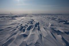 Desierto blanco imagen de archivo libre de regalías