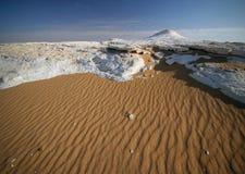 Desierto blanco. Imagenes de archivo