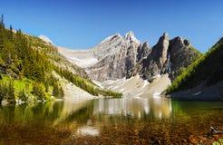 Desierto canadiense, parque nacional de Banff Imágenes de archivo libres de regalías