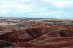 Desierto colorido de Arizona Foto de archivo libre de regalías