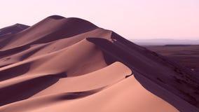 Desierto cremoso Fotografía de archivo libre de regalías