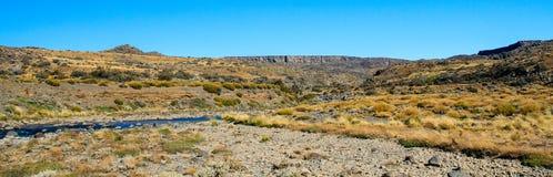 Desierto de Argentina Fotos de archivo libres de regalías