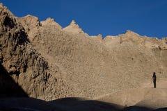 Desierto de Atacama - barranca de Cari - Chile Fotografía de archivo libre de regalías