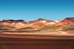 Desierto de Atacama Bolivia Fotografía de archivo libre de regalías