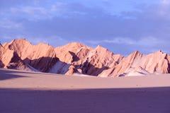 Desierto de Atacama, Chile Foto de archivo libre de regalías