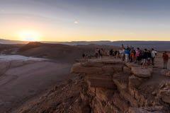 Desierto de Atacama en Chile Imagen de archivo
