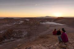 Desierto de Atacama en Chile Foto de archivo libre de regalías