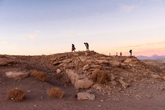Desierto de Atacama en Chile Imagen de archivo libre de regalías
