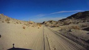 Desierto de aventuras del camino - Borrego5 PALMAS 9 RÁPIDAMENTE almacen de video