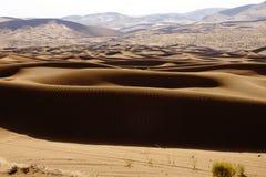 Desierto de Badain Jaran Fotos de archivo libres de regalías