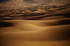 Desierto de Badain Jaran Imagen de archivo libre de regalías