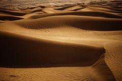 Desierto de Badain Jaran Foto de archivo
