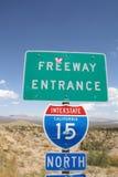 Desierto de California Foto de archivo libre de regalías