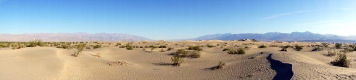 Desierto de Death Valley Foto de archivo libre de regalías