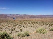 Desierto de Death Valley en California Fotografía de archivo libre de regalías