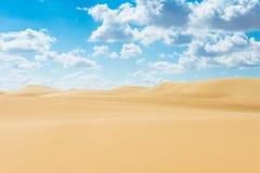Desierto de Egipto Imágenes de archivo libres de regalías