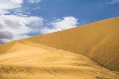 Desierto de Huacachina, Perú Imagen de archivo libre de regalías