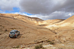 Desierto de Judaean Fotos de archivo