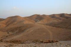 Desierto de Judea imagen de archivo