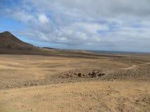 Desierto de Judean Fotografía de archivo