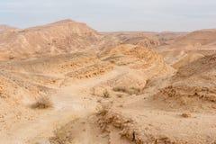 Desierto de Judean Imágenes de archivo libres de regalías