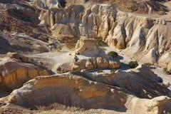 Desierto de Judean, el camino al mar muerto. fotos de archivo libres de regalías