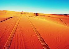 Desierto de la arena imagen de archivo libre de regalías