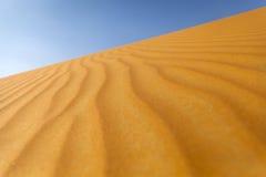 Desierto de la arena Foto de archivo libre de regalías