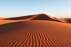 Desierto de la arena Fotos de archivo