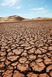 Desierto de la arena Foto de archivo