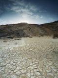 Desierto de la marga Imagen de archivo libre de regalías
