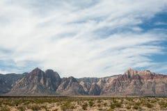 Desierto de la montaña Fotografía de archivo